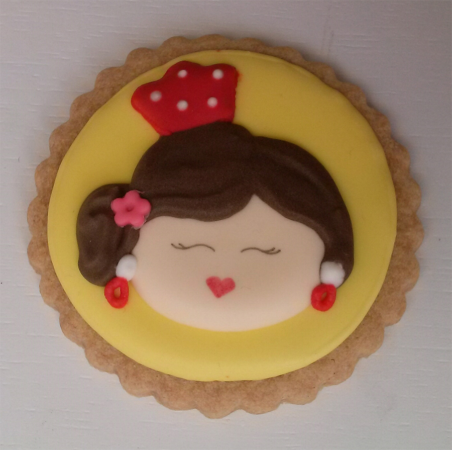 galleta-decorada-flamenca-peineta