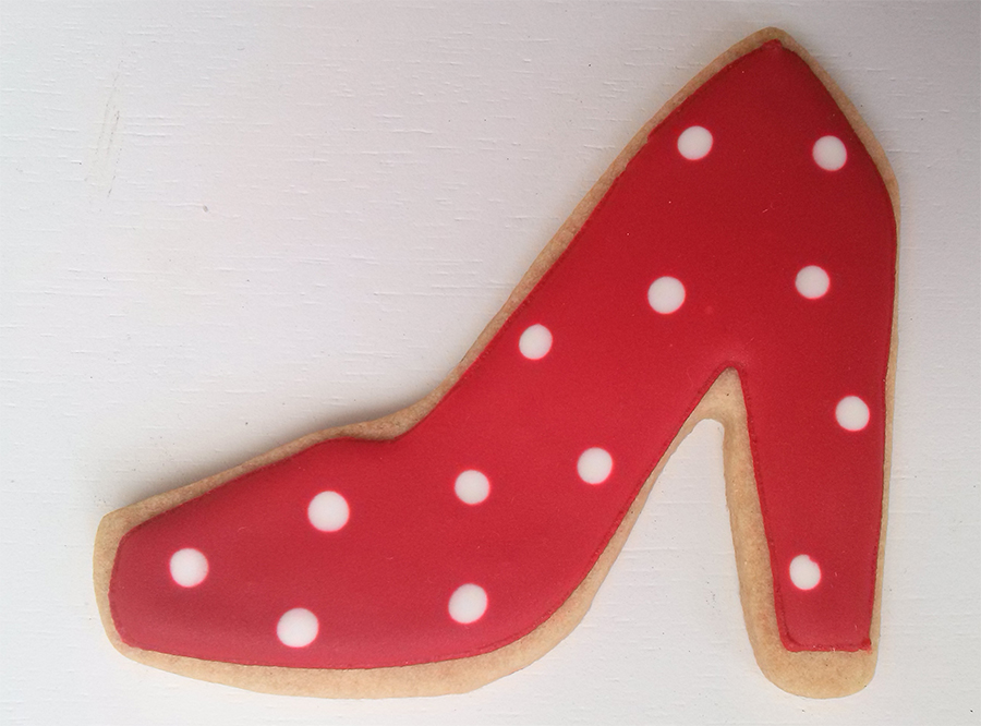 galleta-decorada-zapato-flamenco