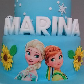 Tarta Frozen Fever